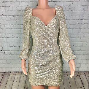 Gold Sequins Glimmer Set